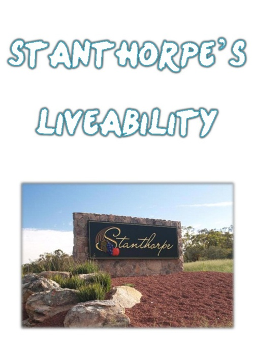 Stanthorpe's Liveability