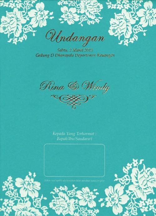 MyFlip Wedding Invitations Windy & Rina