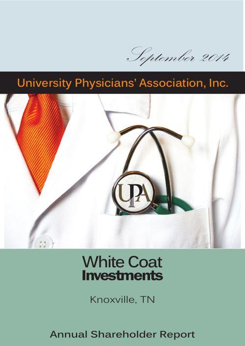WhiteCoat Annual Report