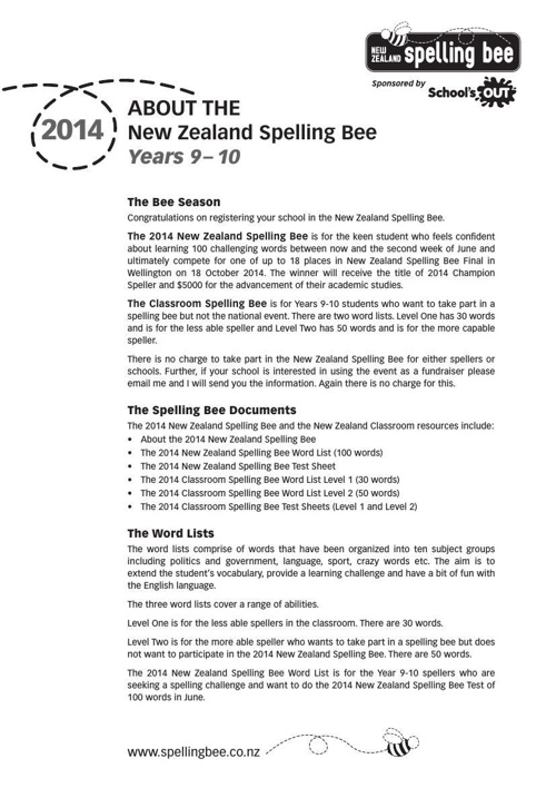 2014-ABOUT-THE-2014-NZSB-Yrs-9-10
