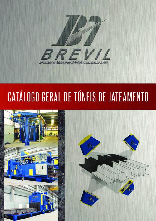 Catálogo - Túneis Automáticos de Jateamento