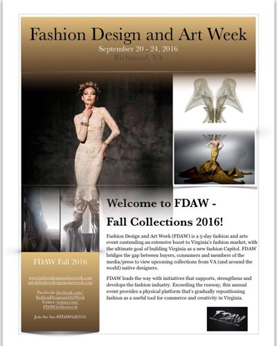 FDAW Fall 2016 Press Kit