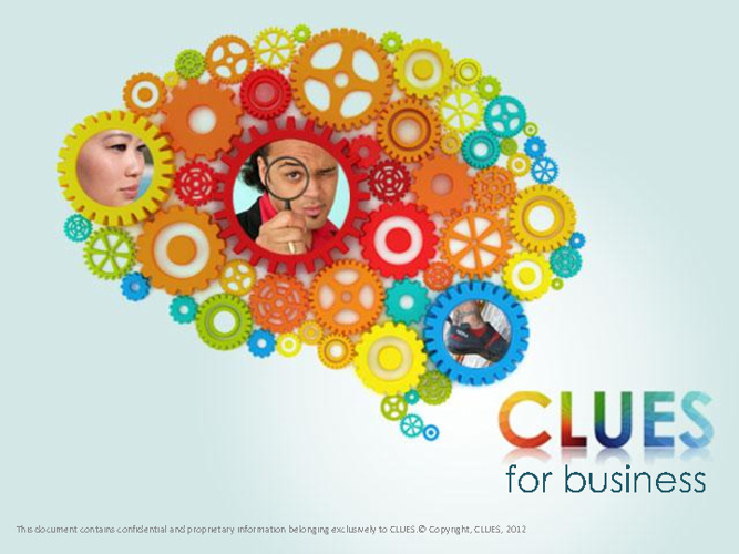 CLUES for Business - an overview
