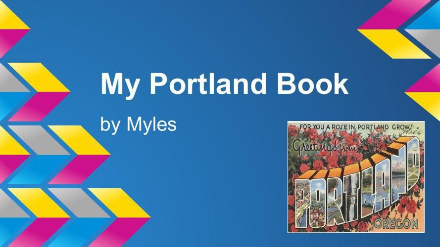 my portland book