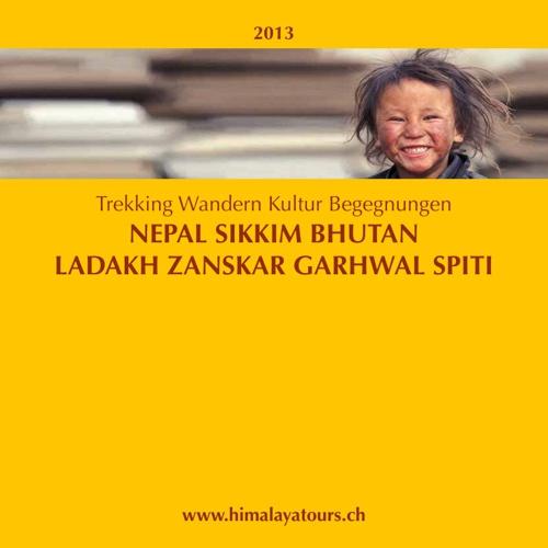 2013 Katalog Himalaya Tours