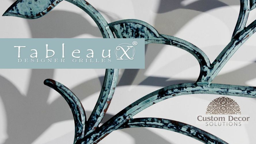 Tableaux Faux Iron - by Custom Decor Solutions