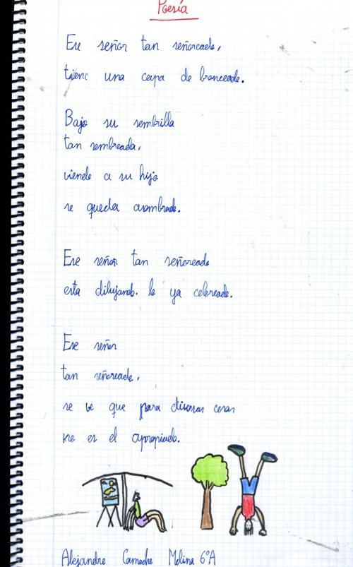 Copy of Poesías inventadas por 6º A. Día del Libro 2013.