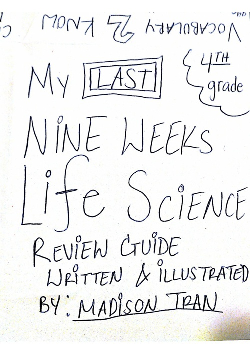 Science 2013 Final review