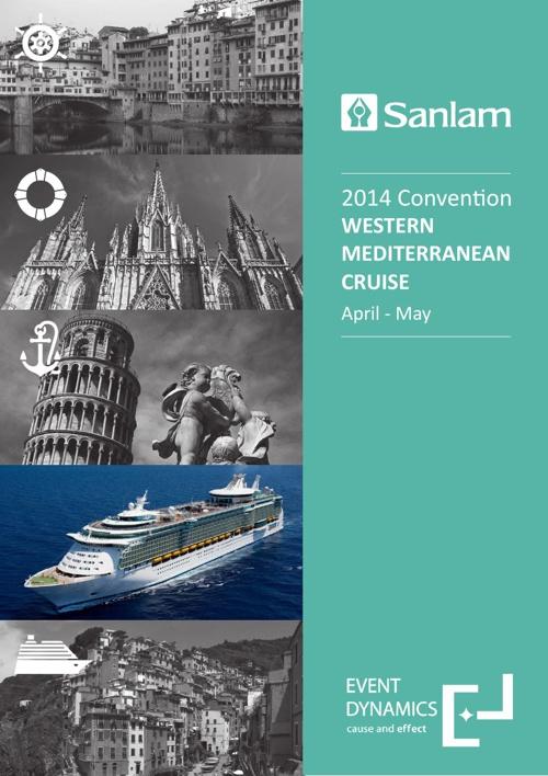 Sanlam Incentive 2014_WESTERN MEDITERRANEAN CRUISE