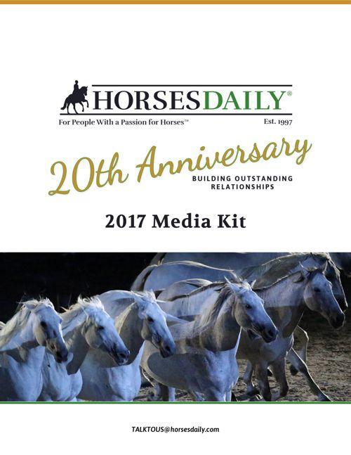 HorsesDaily MediaKit 20th Anniversary