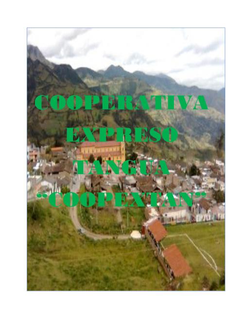 COOPERATIVA DE TAXIS COOPEXTAN