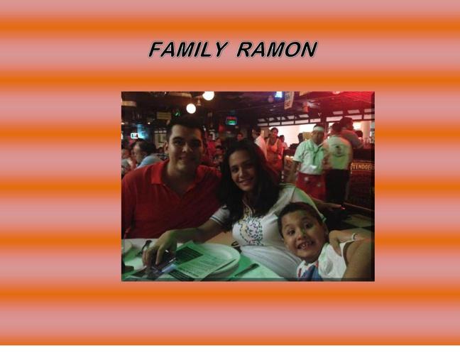 FAMILY RAMON proyecto ingles