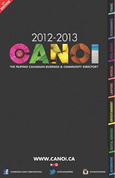 CANOI 2012-2013