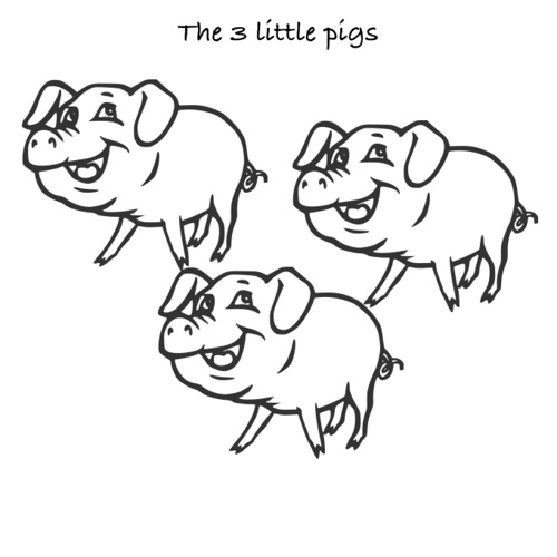 3 Little Pigs by Christopher
