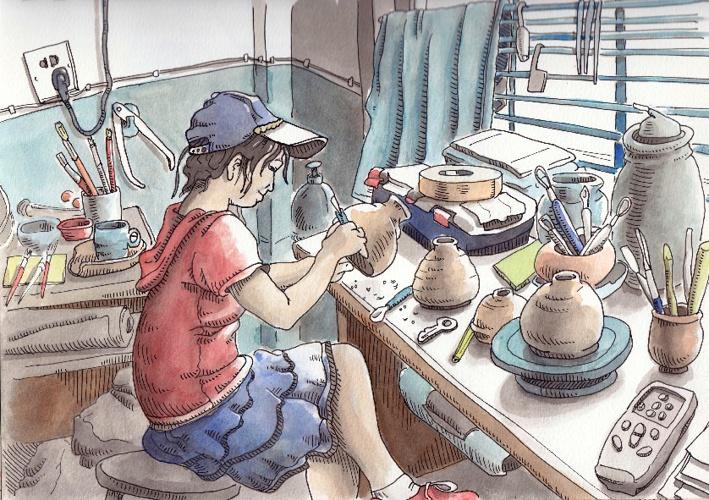 Steve Reddy's China Sketchbook