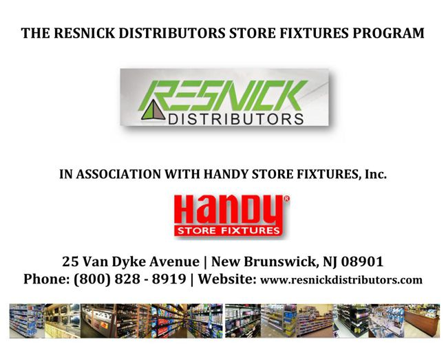 Resnick Distributors Store Fixtures Catalog