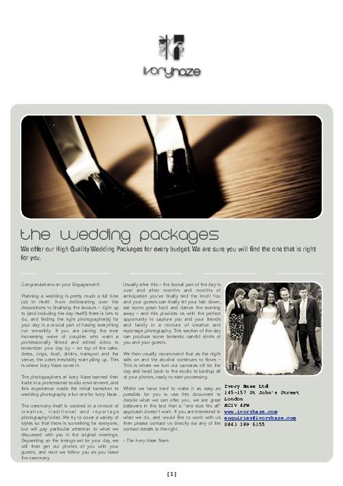 Ivory Haze - Weddings
