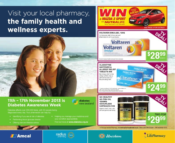 Pharmacybrands Health Catalogue November 2013