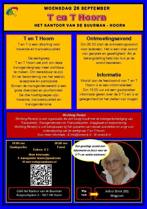 Roze Weken West-Friesland Programma 2012