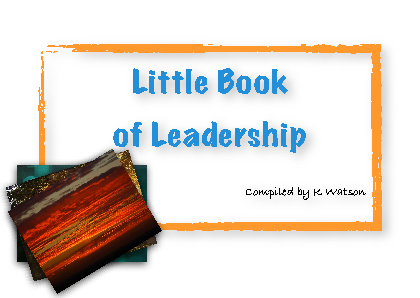 Little Book of Leadership