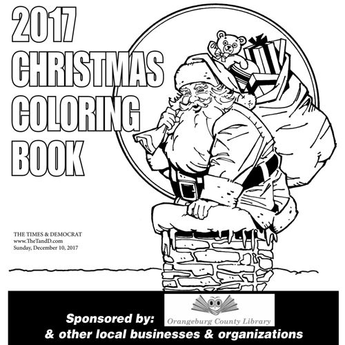 Christmas Coloring Book 2017