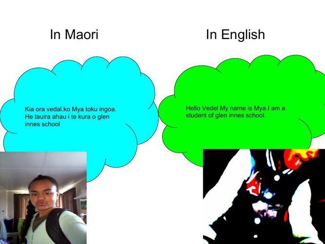 Moari,English