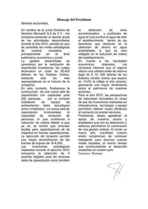 New Flip 1 DERECHO MERCANTIL 1 S.A DE C.V