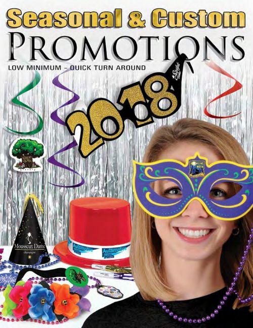 2018 Beistle Seasonal & Custom Promotions