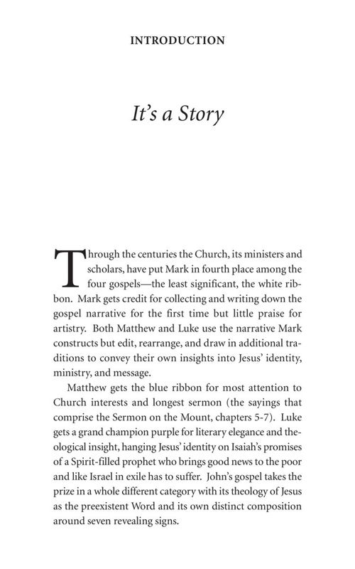 Marks Gospel: Introduction