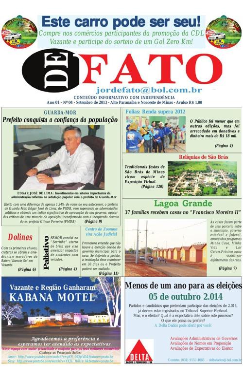 Jornal De Fato 04ª Edição