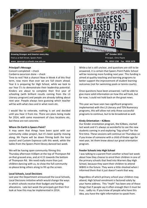 Newsletter T4 W4