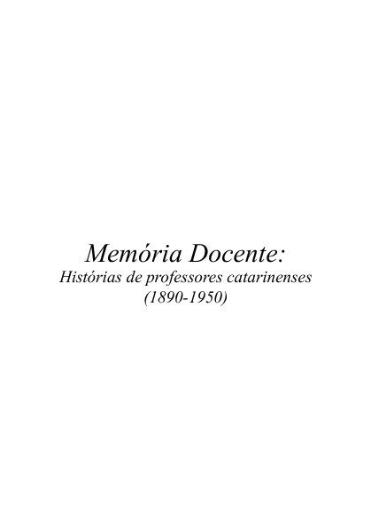 Memória Docente