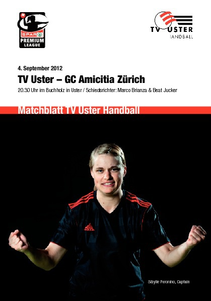 TV Uster – GC Amicitia Zürich