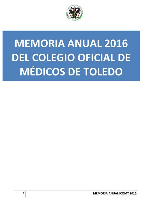 -MEMORIA COLEGIAL ICOMT 2016