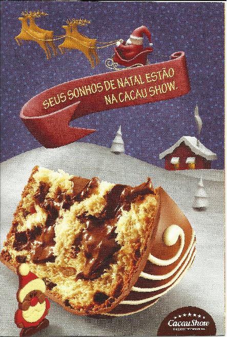 Produtos de Natal Cacau Show !!!
