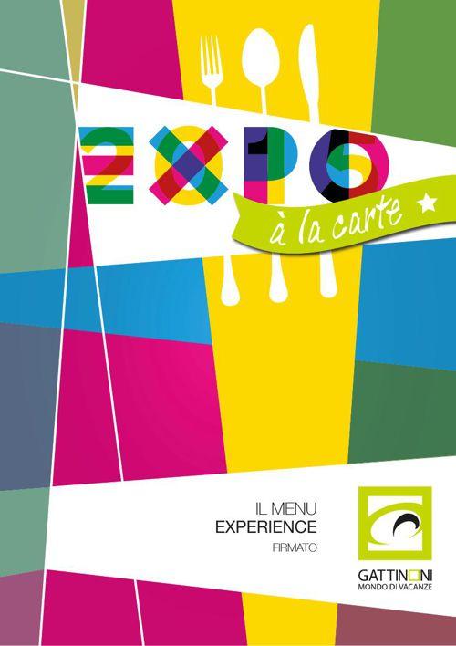 EXPO à la carte - il menu experience firmato GMV