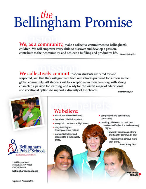 The Bellingham Promise