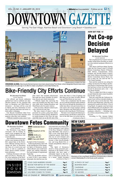 Downtown Gazette  |  January 20, 2012