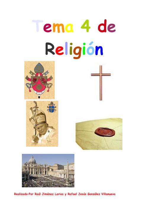 Trabajo de raul y rafa tema 4 de religion