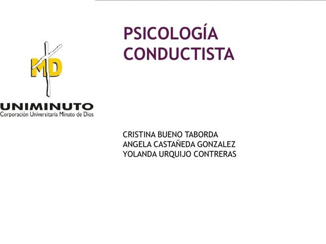 Psicología Conductiva