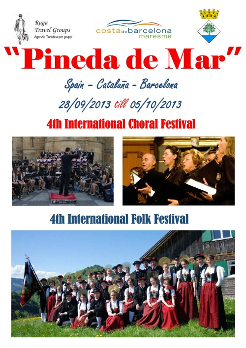 4th International Choral Festival Pineda de Mar