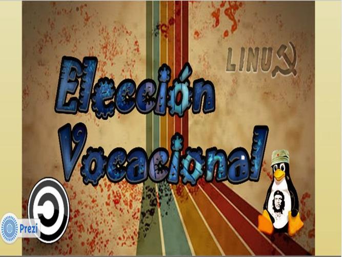 MI ELECCIÓN VOCACIONAL