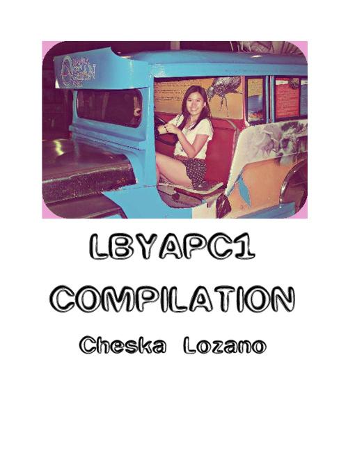 LBYAPC1 Compilation