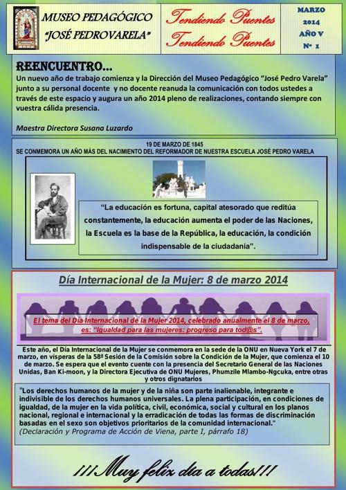 1- BOLETÍN DE MARZO 2014