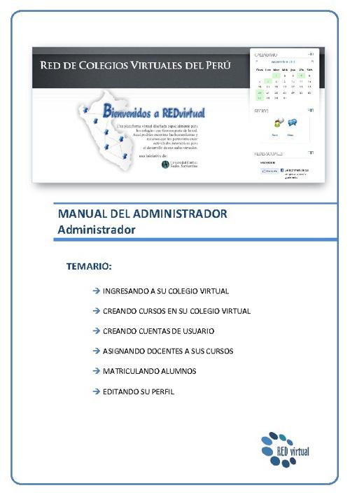 1. Manual del administrador colegiovirtual