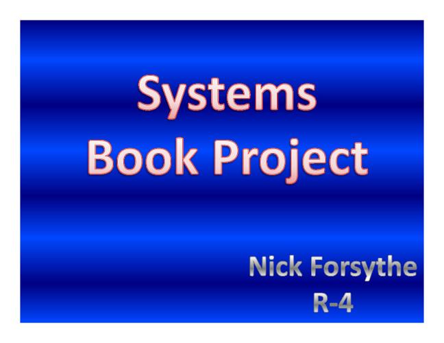 Nick Forsythe