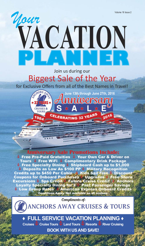 Your Vacation Planner - 32nd Anniversary Edition
