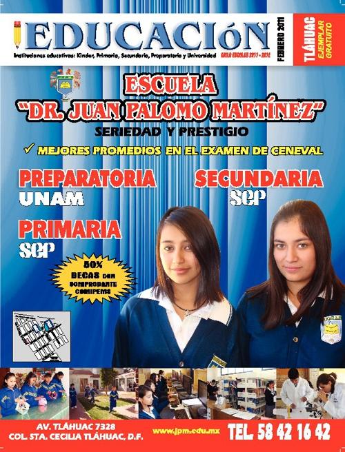 Revista Educación Tláhuac Febrero 2011