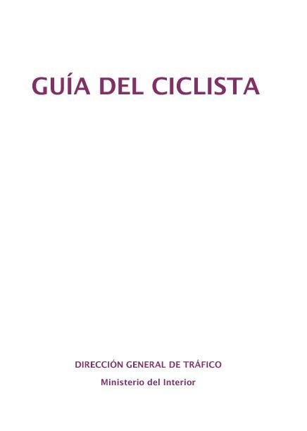 GUIA CICLISTA