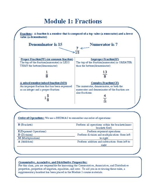 NDE Math 2012 Booklet